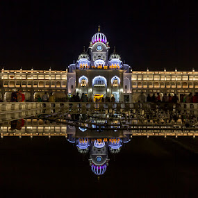 Golden Temple, Amritsar by Amit Aggarwal - Buildings & Architecture Places of Worship ( golden temple, sikh, reflection, punjab, sikhism, india, amritsar )