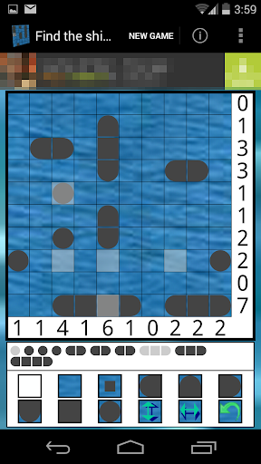 Find the ships - Solitaire 1.9 screenshots 1