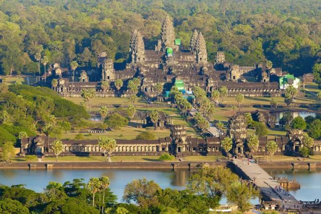 Angokar wat temple