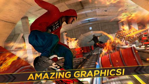 Skateboard Fire Run! 1.3.0 screenshots 8