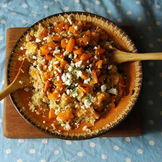 Roast Squash and Feta Quinoa Recipe