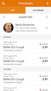 MoneyPenny - Time Tracking- screenshot thumbnail
