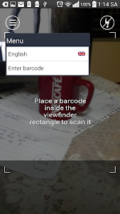 Barcode product lookup origin screenshot 1