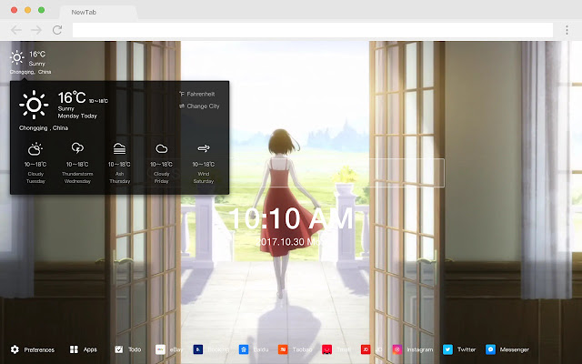 Mei Misaki Pop Wallpapers HD New Tabs Themes