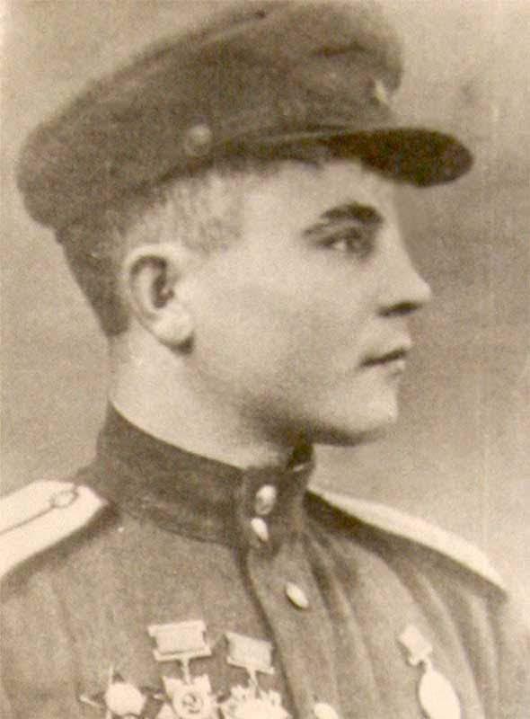 Сидоренко А.Г. - боец 35 осбр