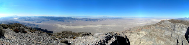 View west from Notch Peak across Tule Valley and into Nevada