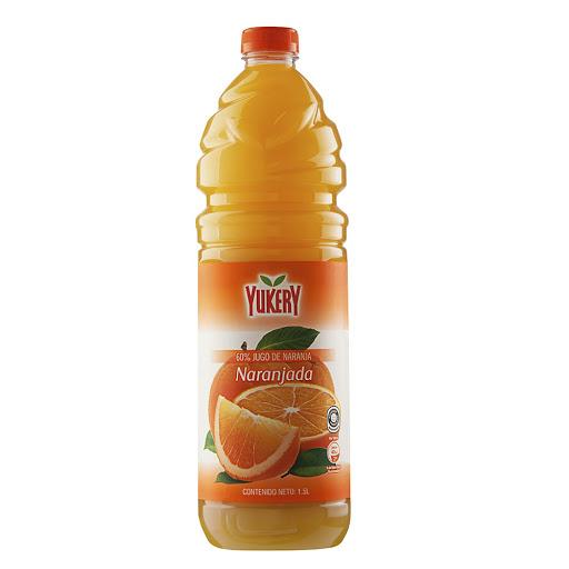 jugo yukery naranja 1.5l