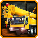 Construction Crane Dump Truck icon