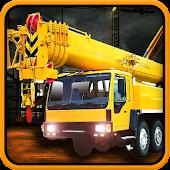 Construction Crane Dump Truck