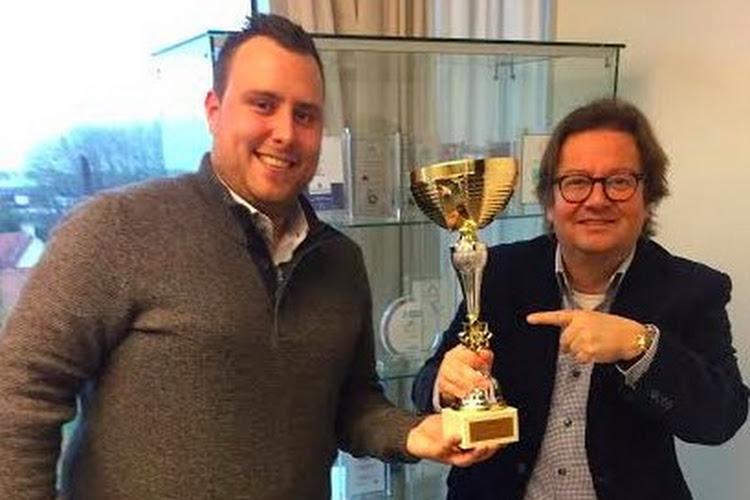 Marc Coucke voulait un trophée pour le titre de champion d'automne, nous avons réalisé son voeu