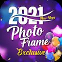New Year Photo Frame 2021 icon