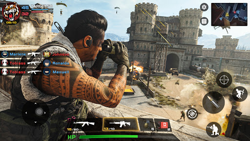 Critical Action :Gun Strike Ops - Shooting Game  screenshots 5