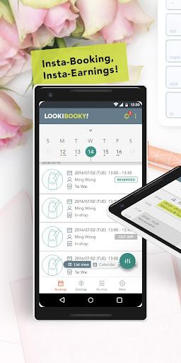 LookiBooky Pro: Manage Beauty Service Bookings 1.1 screenshots 2