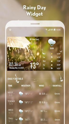 5-day Weather forecast &weather widget 10.3.5.2353 screenshots 5