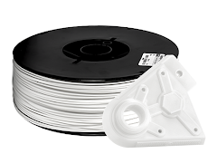 White PRO Series PLA Filament - 2.85mm (10lb)