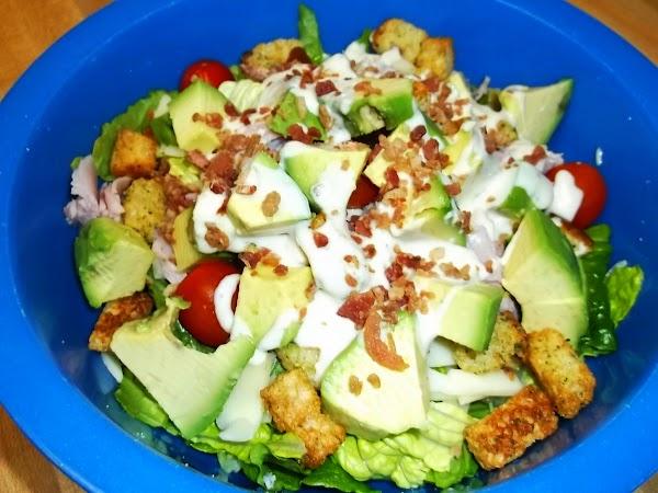 Ham & Avocado Chef Salad Recipe