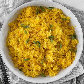 Yellow Jasmine Rice.