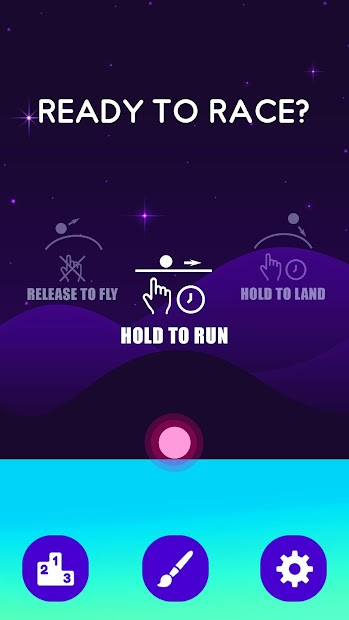 Hill Racer-Fly & Run the Ball Android App Screenshot