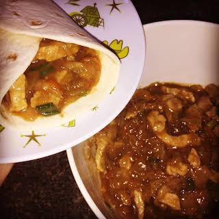 Instant Pot Moo Shu Pork.