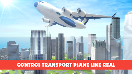 Race Car Transporter Airplane 1.9 screenshot 975061