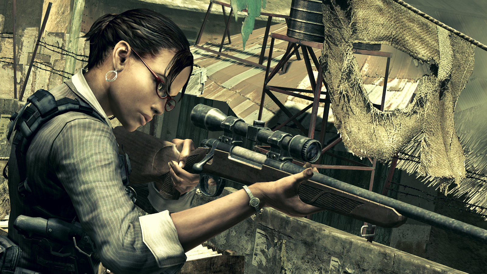 Resident Evil 5 for SHIELD TV- screenshot