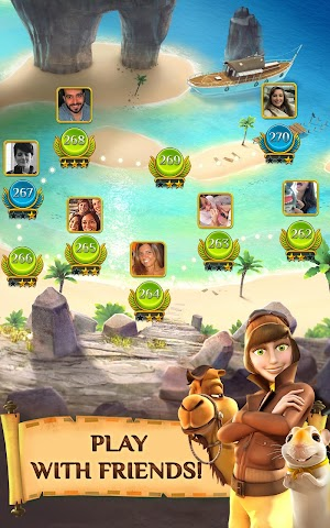 8 Pyramid Solitaire Saga App screenshot