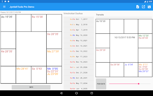 JyotishTools Pro for Tablets Demo- screenshot thumbnail