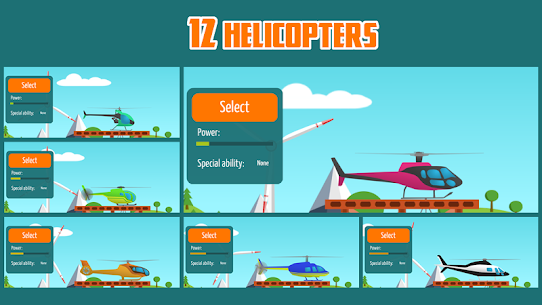 Go Helicopter 2.62 MOD (Unlimited Money) 3