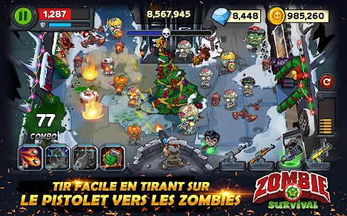 Zombie Survival: Game of Dead Mod 2.0.4 Apk [Unlimited Money] 1