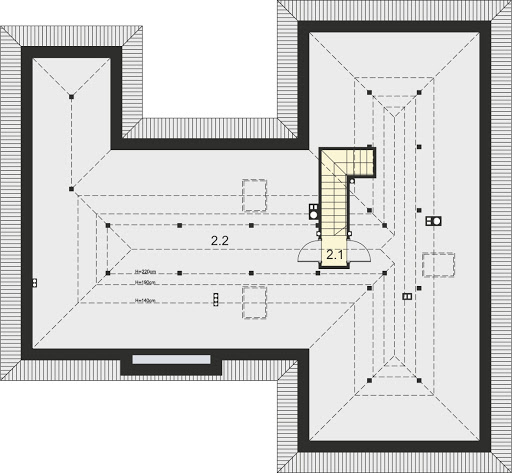 Pandora - Strych (do adaptacji) - 53,24 (148,65 m2)