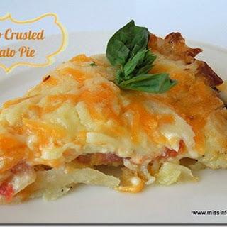Tomato Pie with a Potato Crust