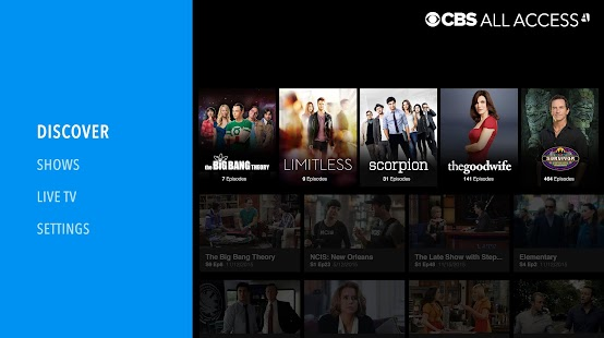 CBS All Access- screenshot thumbnail