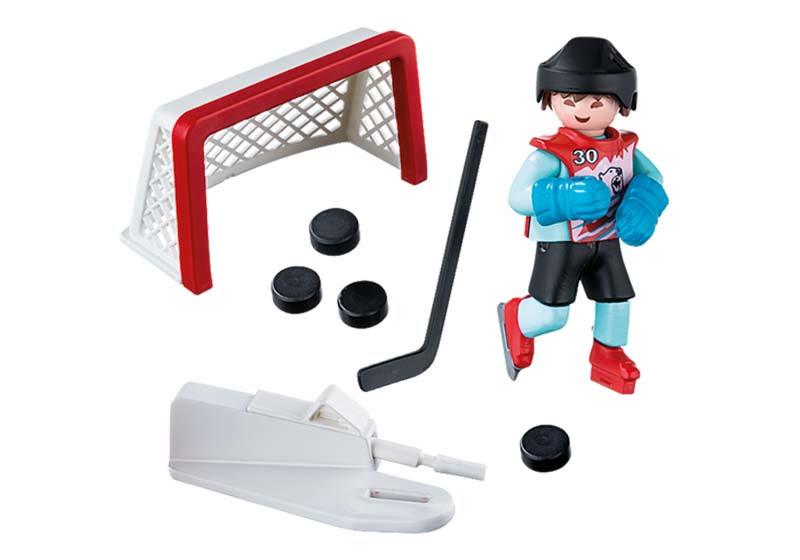 Contenido real de Playmobil® 5383 Jugador de Hockey sobre Hielo