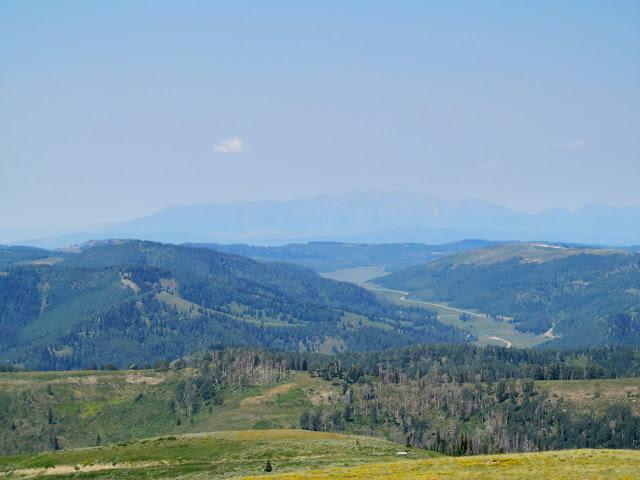Mount Nebo 35 miles distant