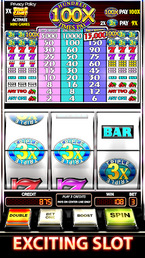PC u7528 Slot Machine : Triple Hundred Times Pay Free Slot 2