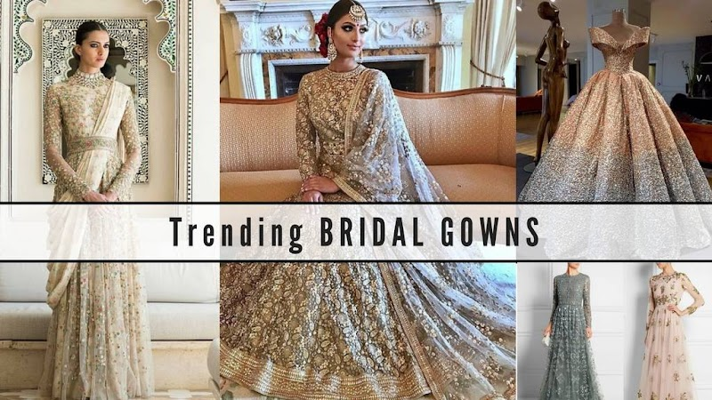 16 Indian Wedding Gowns For Trending Bridal Wear Magicpin Blog,Indo Western Dresses For Wedding Reception