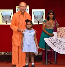 Photo: Award Receipient for the Bursary Awards - Saraswathi