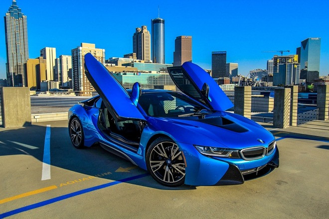 2016 BMW I8 COUPE AWD Hire Los Angeles