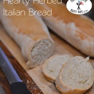 Hearty Herbed Italian Bread