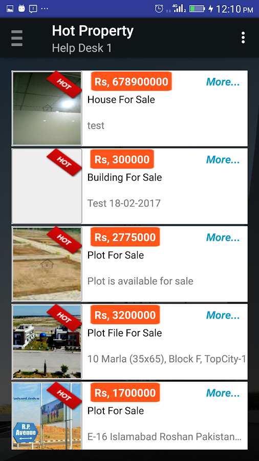 Pak-E-Property- screenshot