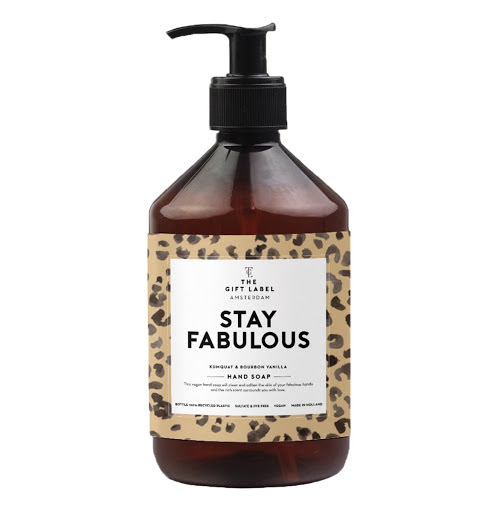 The Gift Label - Handsoap - Stay fabulous