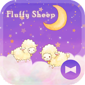 Fluffy Sheep beautiful Theme