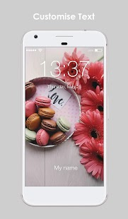 Sweet Macarons Delicious HD Wallpapers PIN AppLock - náhled