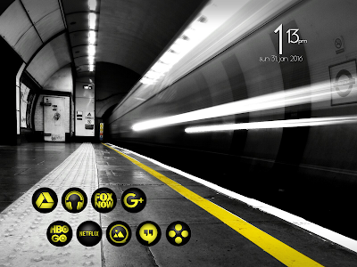 Snap Yellow - Icon Pack v1.7