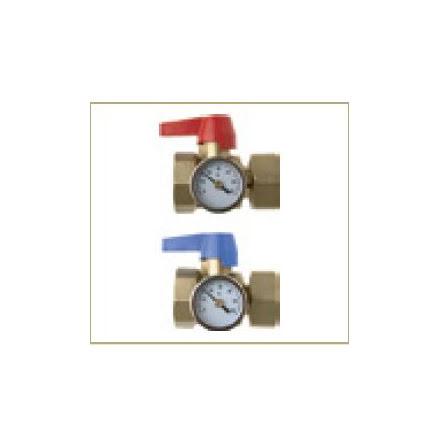 Kulventil med termostat 1