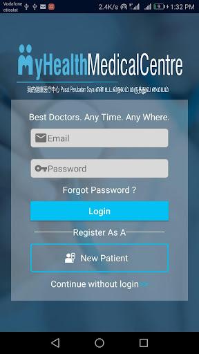 MyHealth Medical Centre screenshot 2