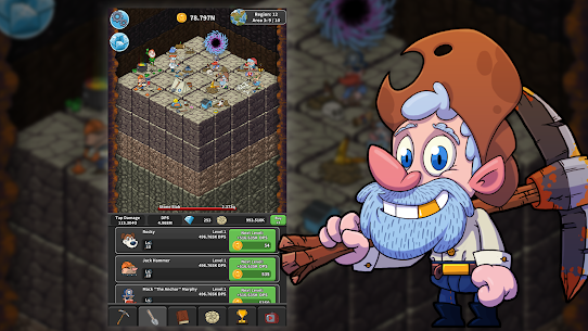Tap Tap Dig – Idle Clicker Game MOD 1.5.0 (Unlimited Money) Apk 6