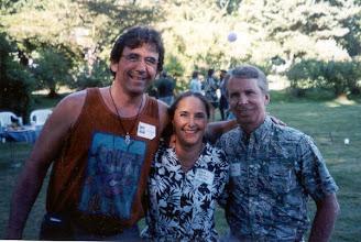 Photo: Tom Ingram with Tina Herald Kirk and Bob Kirk