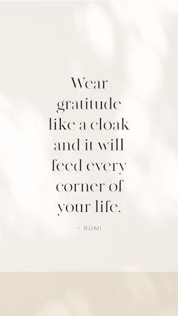 Gratitude Cloak - Thanksgiving item