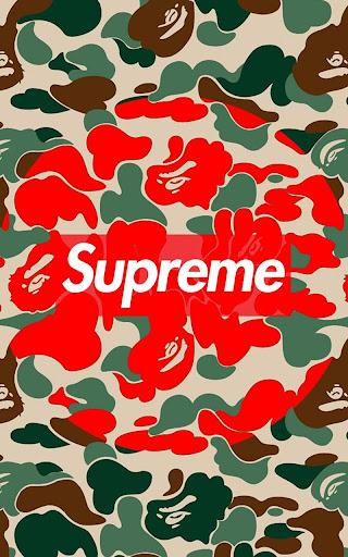 Supreme Wallpaper Art (live) screenshot 1 ...
